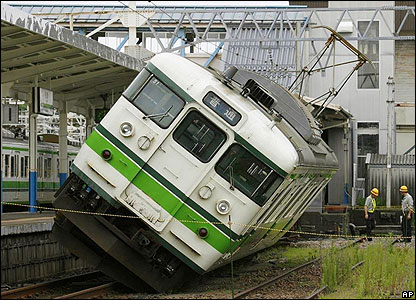 Train Off Track