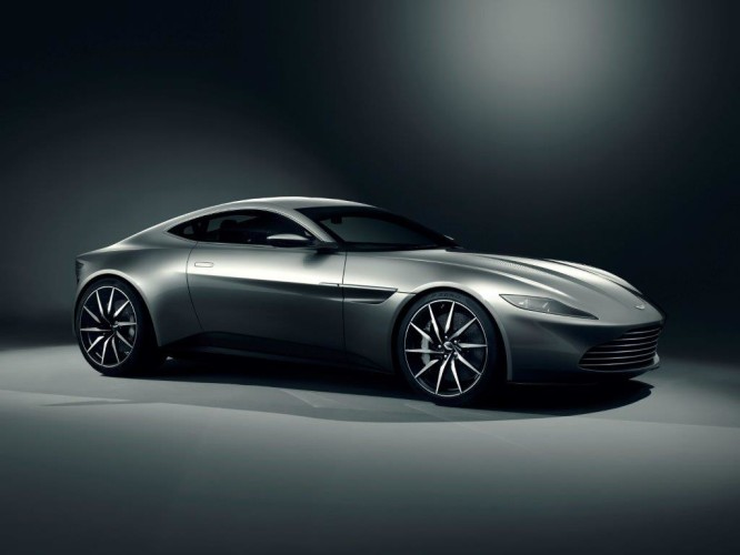 Aston Martin DB10  Front Three Quarter