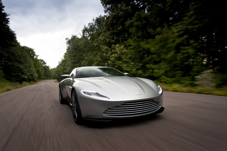 Aston Martin DB10 July 2015.  Photo: Drew Gibson