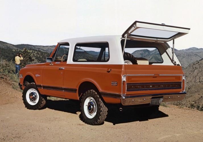 1971 Chevrolet K5 Blazer C2016-0037