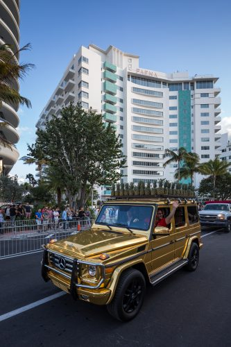 Mercedes-Benz USA at the 2016 Faena Art opening. Photo by Jensen Larson for MBUSA.