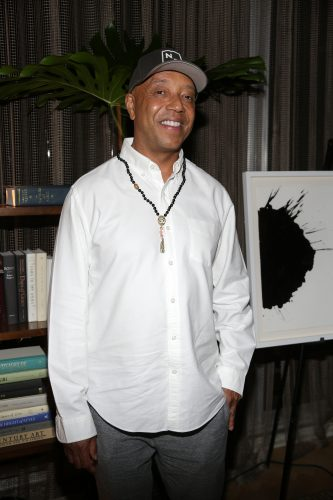 MIAMI, FL-DECEMBER 3: Russell Simmons attends the Rush Arts Foundation auction at Park Grove on December 3, 2015 in Coconut Grove, Florida. (Photo by Alberto E. Tamargo)