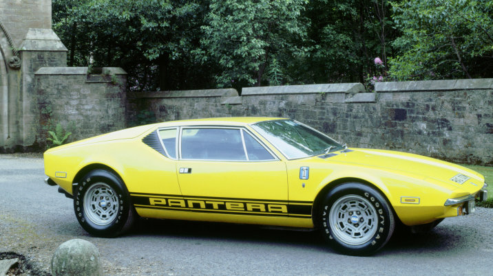 1974 De Tomaso Pantera GP4, 2000. (Photo by National Motor Museum/Heritage Images/Getty Images)