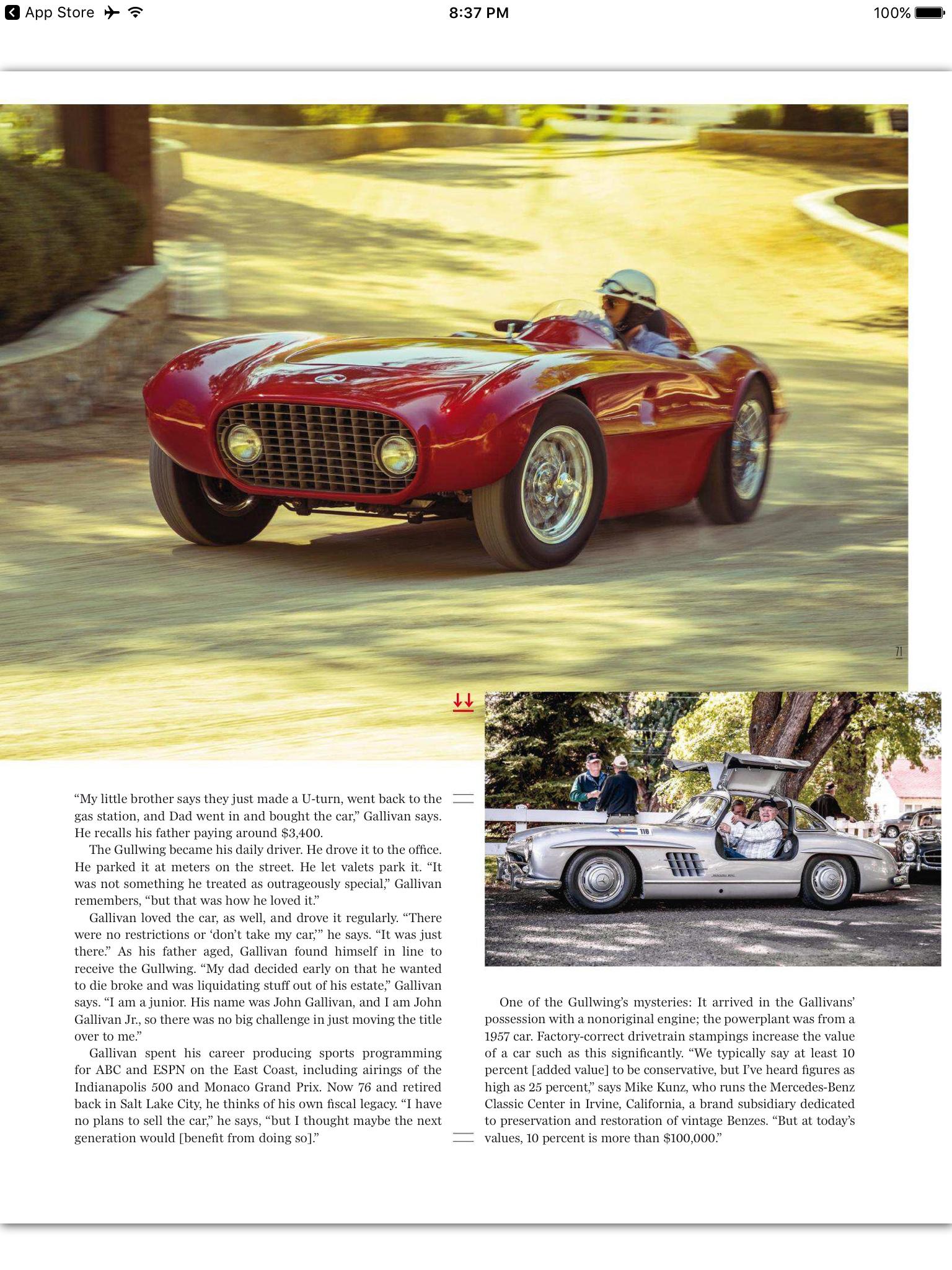 My First Story for Automobile – Brett Berk