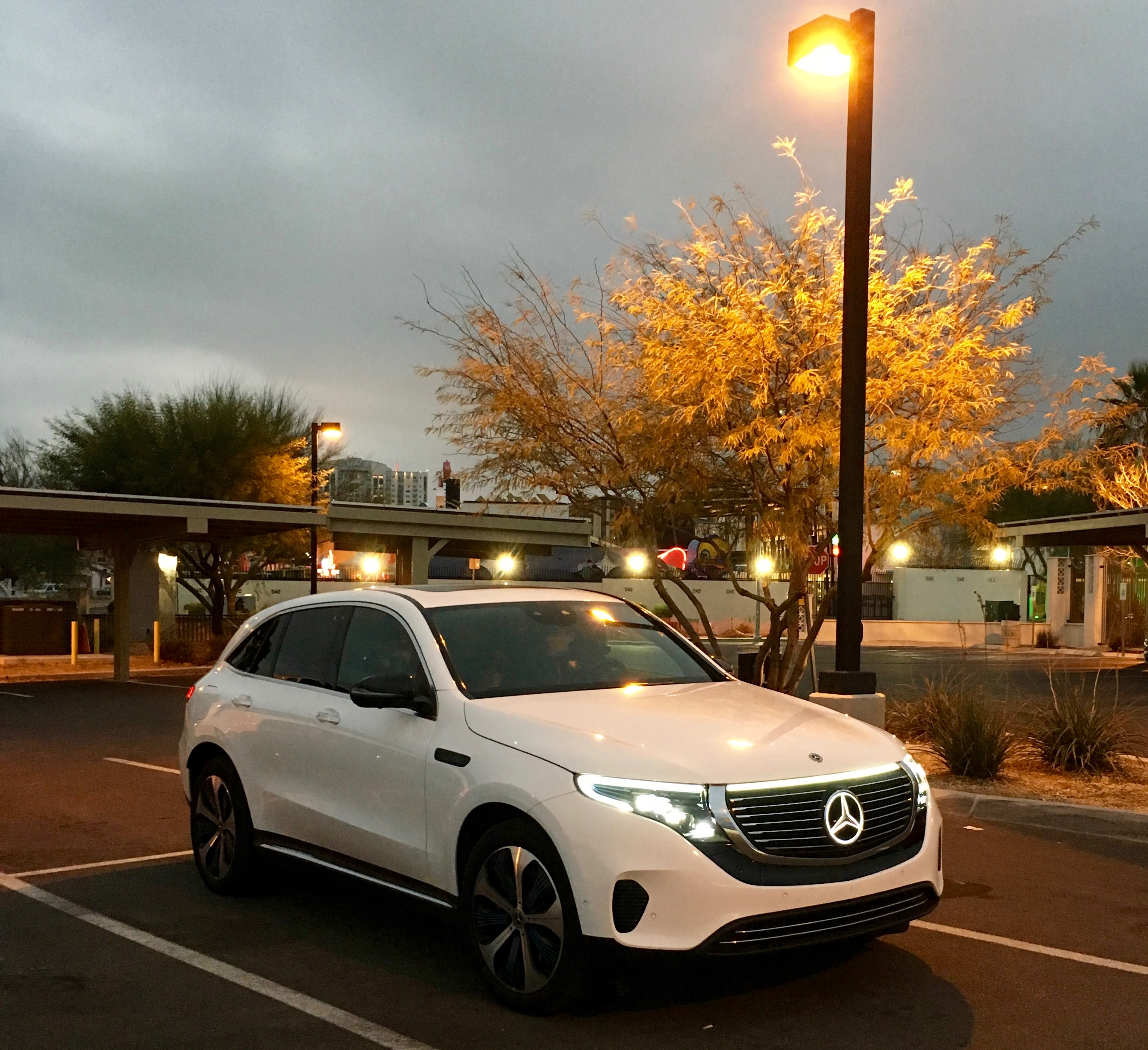 Mercedes' Answer To The Tesla Model X